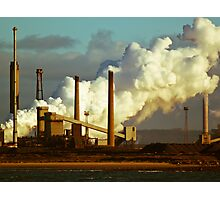 Chemical works and smoke Photographic Print