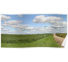 Nebraska Country Road Poster