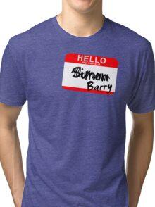 His name is Simon Tri-blend T-Shirt