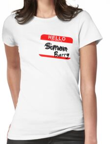 His name is Simon Womens Fitted T-Shirt
