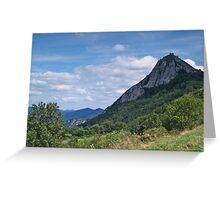 Chateau de Montsegur 2 Greeting Card