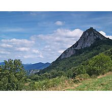Chateau de Montsegur 2 Photographic Print
