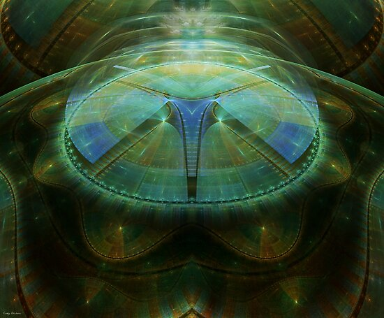The Reality Factory by Craig Hitchens - Spiritual Digital Art
