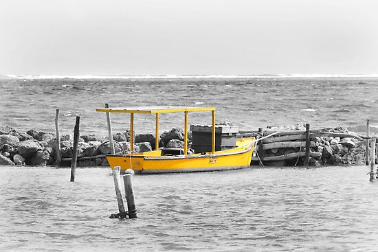 Fishing Boat by Steve Small
