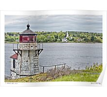 Squirrel Point Light Poster