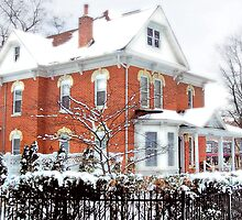 Victorian in Winter by Nadya Johnson