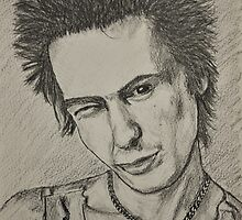 Sid Vicious by Tricia Winwood