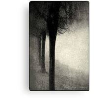 Twins in the Forest Canvas Print
