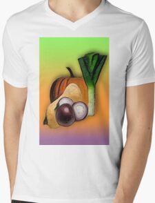 Vegetables 3 /  The Fruit Shop Mens V-Neck T-Shirt