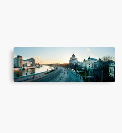 Mockba Panoramic Canvas Print