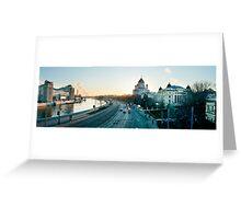 Mockba Panoramic Greeting Card
