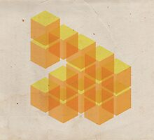 yellow cubes by cartophage