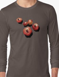 Pomegranate on the Edge Long Sleeve T-Shirt