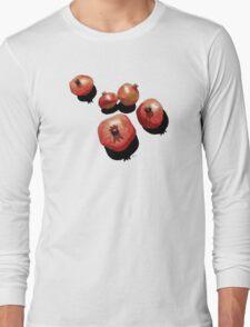 Pomegranate on the Edge Long Sleeve T-Shirt