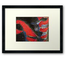 Destructive Forces Framed Print
