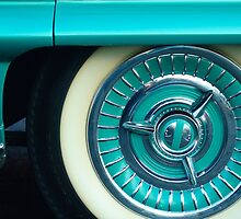 1958 Oldsmobile 98 Wheel by Jill Reger