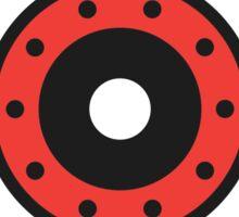 Support Local Roller Derby – Canada White/Red Sticker