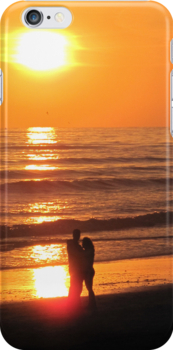 Romantic Sunset by Christine Wilson