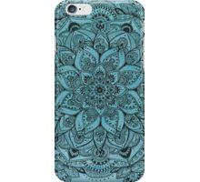 Light Blue Mandala iPhone Case/Skin