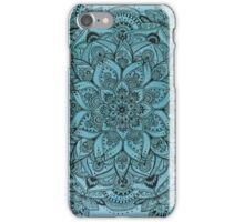 Light Blue Mandala iPhone Case/Skin