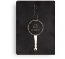 The Two Towers Canvas Print