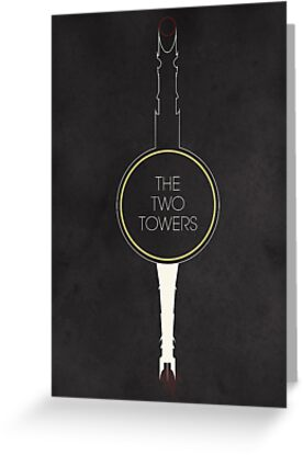 The Two Towers by Ian Wilding