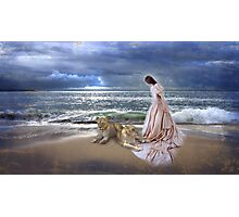 """""""The Guardian Lionesses"""" Photographic Print"""