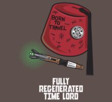 FULLY REGENERATED TIME LORD One Piece - Short Sleeve