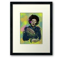 Jimi Colourised  Framed Print