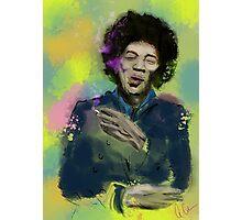 Jimi Colourised  Photographic Print