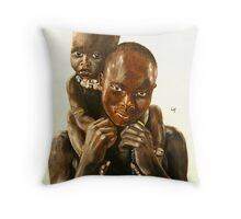 Mother love Throw Pillow
