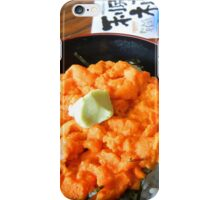 Sea urchin bowl iPhone Case/Skin