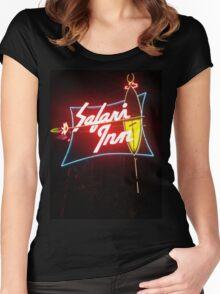 Safari Inn Women's Fitted Scoop T-Shirt
