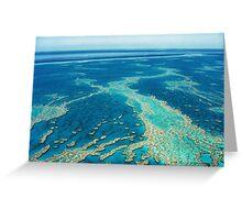 The Great Barrier Reef © Vicki Ferrari Greeting Card