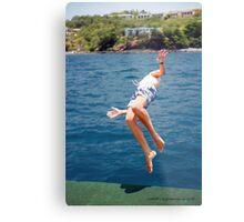 Island Hopping Boy© Vicki Ferrari Metal Print