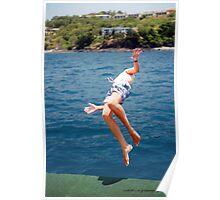 Island Hopping Boy© Vicki Ferrari Poster