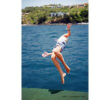 Island Hopping Boy© Vicki Ferrari Photographic Print