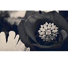 Black and White Love Photographic Print