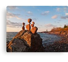 Three and a Tree Canvas Print