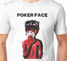 Poker Face (Black) Unisex T-Shirt