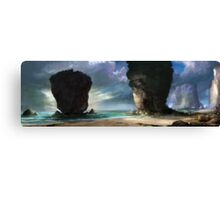 Beach Front Canvas Print