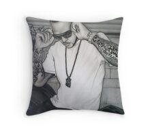 Boss Hogg Throw Pillow