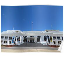 Good old Australian parliament house Poster