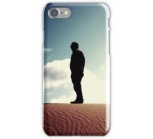 Sand Hill Silhouette iPhone Case/Skin