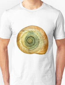 snail shell macro photography art T-Shirt