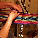 Ojibwe Heritage - Finger Weave by AuntieJ