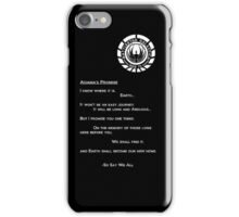 Adama's Promise iPhone Case/Skin