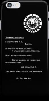 Adama's Promise by atlwildguy