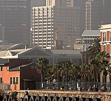 Cape Town CBD by awefaul