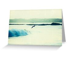 Surfin Pelican #2 Greeting Card